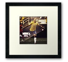 Philippe Coutinho - Brazil Framed Print