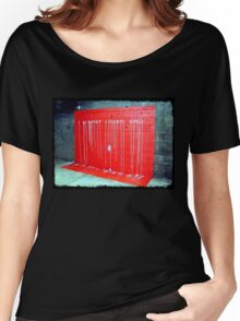 I Almost Loved You - dripping paint on wall Women's Relaxed Fit T-Shirt