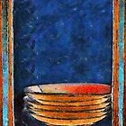 Six Japanese Bowls by RC deWinter
