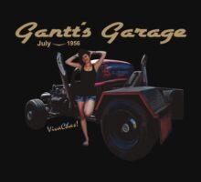 Rat Rod Gantt's Garage 1956 by ChasSinklier