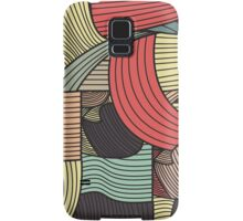 Abstract Wavy Samsung Galaxy Case/Skin