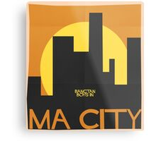 HYYH pt.2 x Saul Bass - Ma City Metal Print