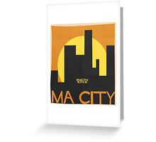 HYYH pt.2 x Saul Bass - Ma City Greeting Card