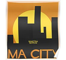 HYYH pt.2 x Saul Bass - Ma City Poster
