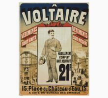 Vintage poster - A Voltaire One Piece - Long Sleeve