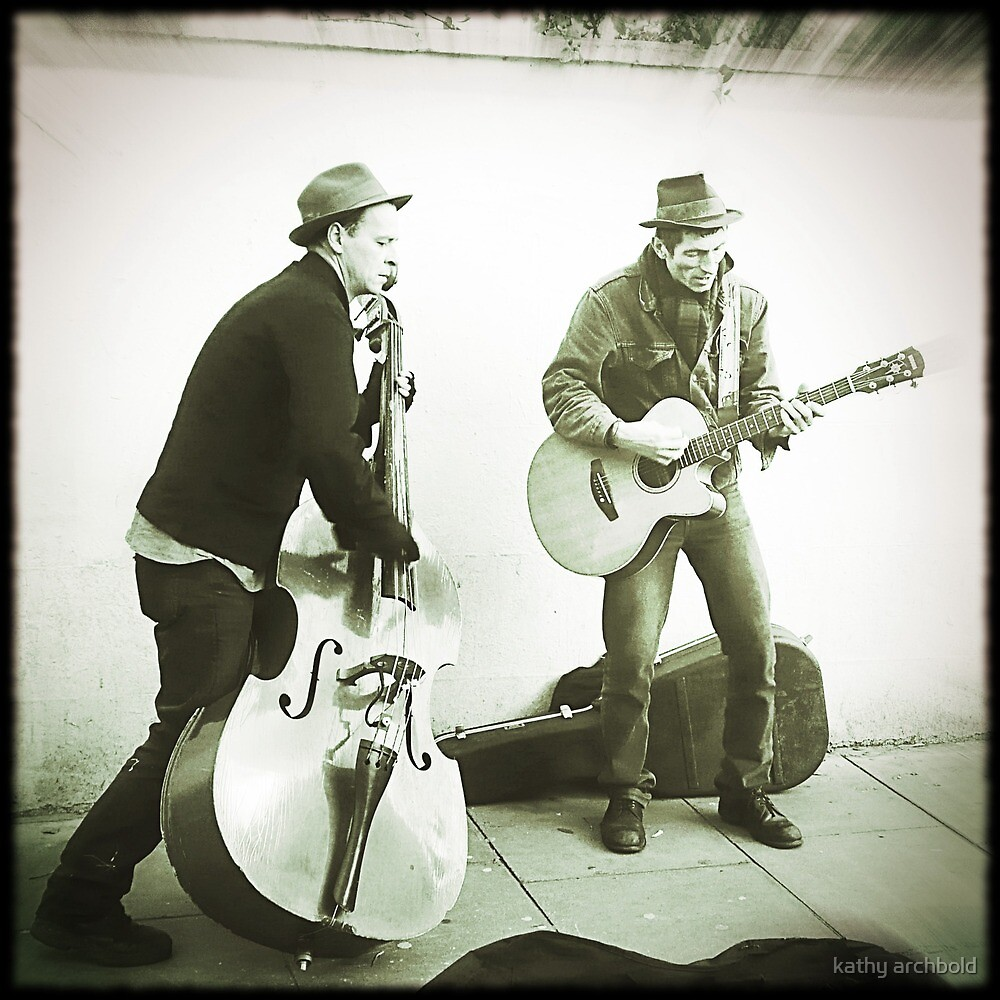 buskers by kathy archbold