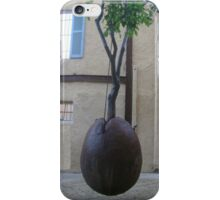 Floating orange tree iPhone Case/Skin