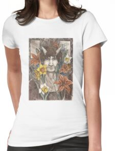 Orange Lily, Daffodil, and Jonquil Womens Fitted T-Shirt