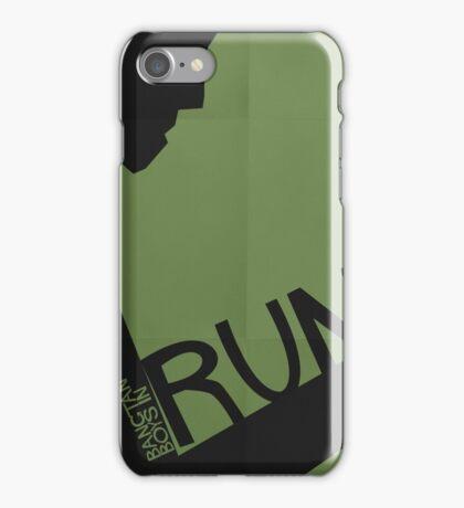 HYYH pt.2 x Saul Bass - Run iPhone Case/Skin