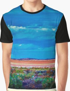 A Salt Lake between Cue and Mt Magnet  Graphic T-Shirt