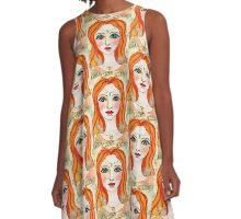 Faith, Light, Love A-Line Dress