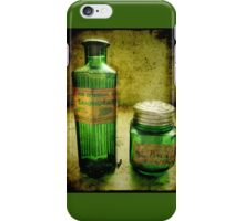 green bottles iPhone Case/Skin