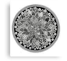 Mandala Design Canvas Print
