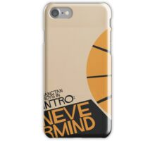 HYYH pt.2 x Saul Bass - Intro: Nevermind iPhone Case/Skin