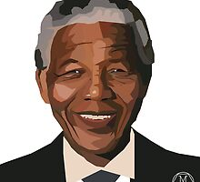 Nelson Mandela by Melissa Williams