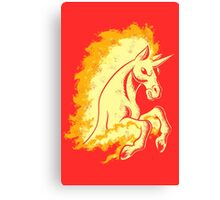 Blazing Stallion Canvas Print