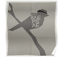 HYYH pt.2 x Saul Bass - Baepsae Poster