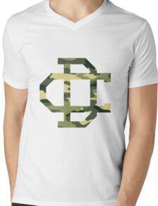 Cameron Dallas Camo Logo Mens V-Neck T-Shirt