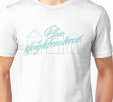 Blue Neighbourhood Houses Unisex T-Shirt