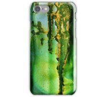 Metalic abstraction iPhone Case/Skin