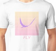 Vaporwave Aesthetic Pterosaur Unisex T-Shirt