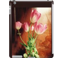 Tulips with Tiger iPad Case/Skin