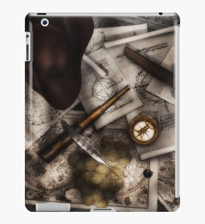 Old World Travel 4 iPad Case/Skin