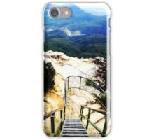 Staircase, Clifftop Walk, Blue Mountains, NSW iPhone Case/Skin