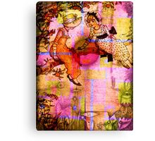 FRIENDSHIP FROM SUN UP TO SUN DOWN Canvas Print
