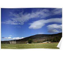 Gairnshiel Lodge, Aberdeenshire, Scotland Poster
