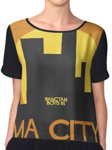 HYYH pt.2 x Saul Bass - Ma City Chiffon Top