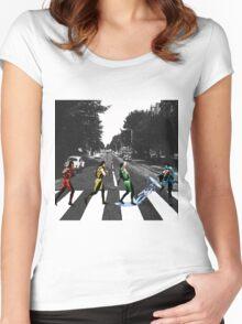 BEATLE KOMBAT Women's Fitted Scoop T-Shirt