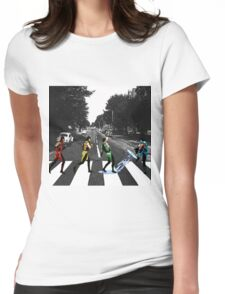 BEATLE KOMBAT Womens Fitted T-Shirt