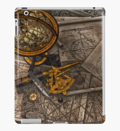 Old World Travel  iPad Case/Skin