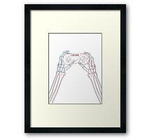 3D gaming 2nd gen Framed Print