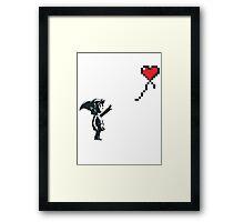 Banksy Zelda Framed Print