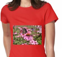 Black Swallowtail... Womens Fitted T-Shirt