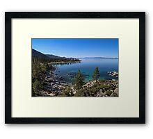 Sand Harbor - Lake Tahoe Framed Print