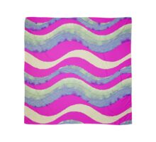 Funky colorful watercolor wavy pattern Scarf