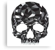 Obsidian Skull Canvas Print
