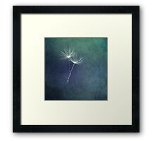 Dancing with the Wind Framed Print