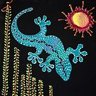 Redreaming Gecko under the Willow by WENDY BANDURSKI-MILLER