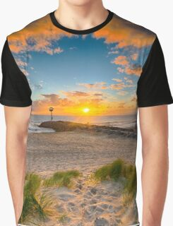 Cloud Frame Graphic T-Shirt
