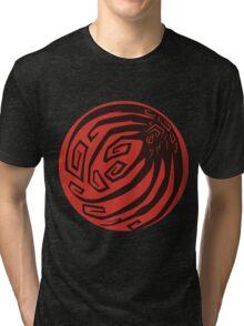 Ninetails Moon Tri-blend T-Shirt