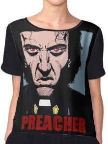 Preacher is mad Chiffon Top