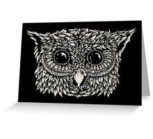 Staring owl Greeting Card