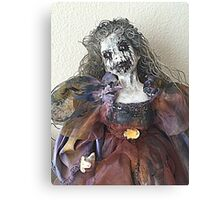 Lady Macabre Canvas Print