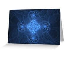 Pearls and Swirls Greeting Card