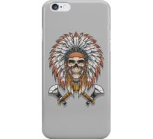Chief Skull iPhone Case/Skin