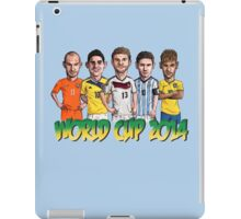 World Cup footballers iPad Case/Skin
